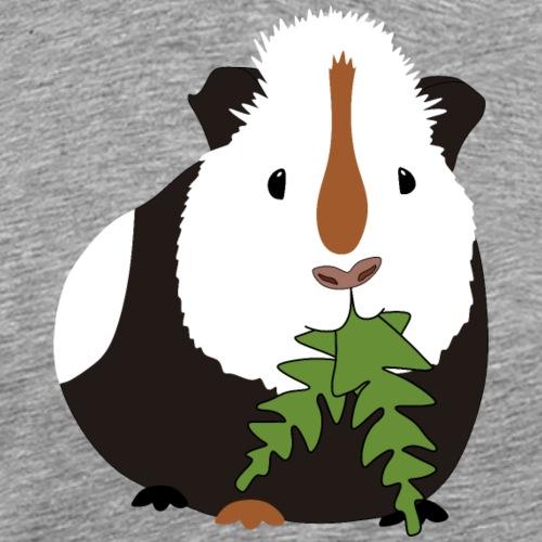 Meerschweinchen frisst Löwenzahn Geschenkidee - Männer Premium T-Shirt