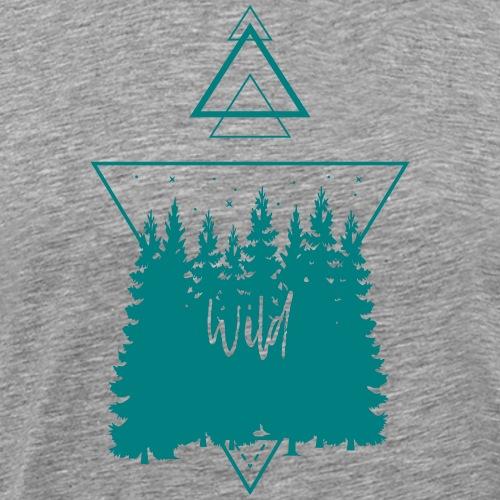 Geometrische Natur 09 - Männer Premium T-Shirt