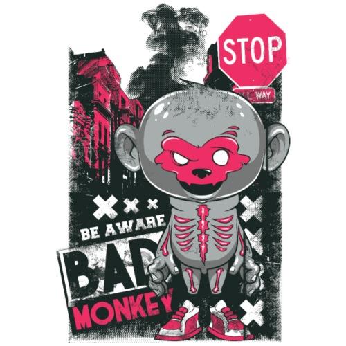 Bad Monkey - Camiseta premium hombre