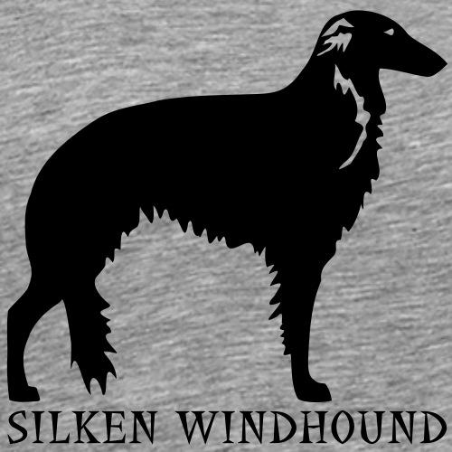 Silken Windhound - Männer Premium T-Shirt