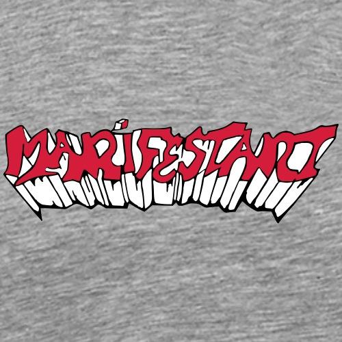 Manifestant (par éoline) - T-shirt Premium Homme
