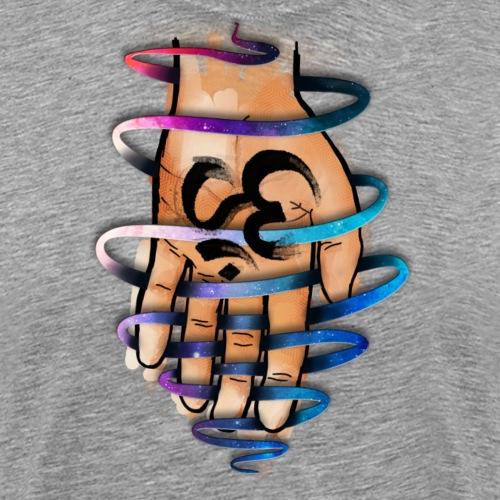 AUM hand By TheRawburt - Premium-T-shirt herr