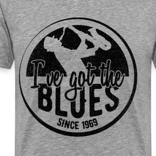 Blues Musik 1969 50. Geburtstag Geschenk - Männer Premium T-Shirt