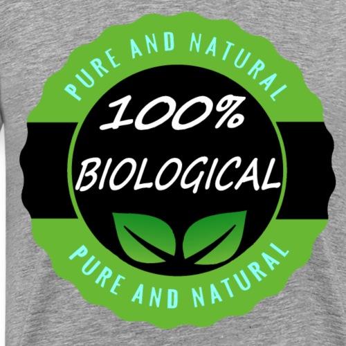 100% Bilogical Vegan - Männer Premium T-Shirt