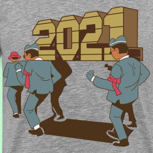 Pandemia 2021 - Camiseta premium hombre