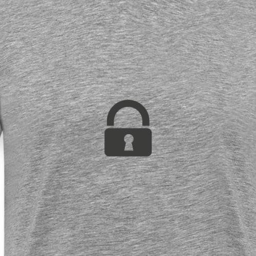 Lock - Men's Premium T-Shirt