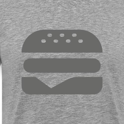 Burger icon - Men's Premium T-Shirt