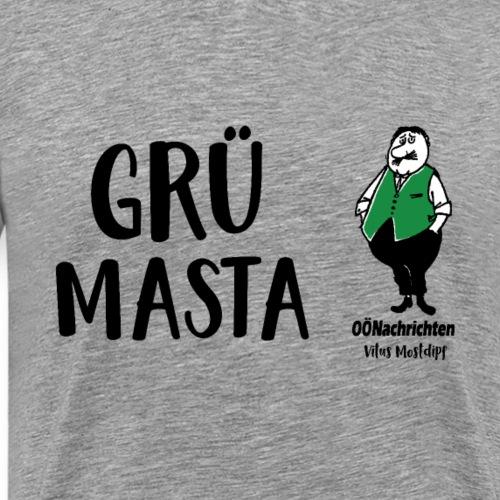 Grümasta - Grillmeister - Vitus Mostdipf - Männer Premium T-Shirt