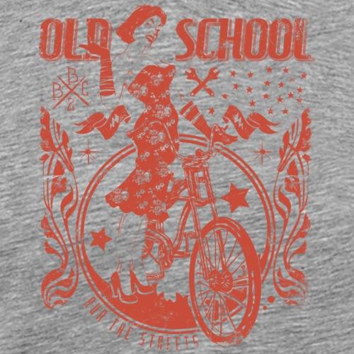 Old school - Männer Premium T-Shirt
