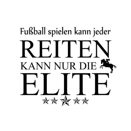 reiten kann nur die elite - Männer Premium T-Shirt
