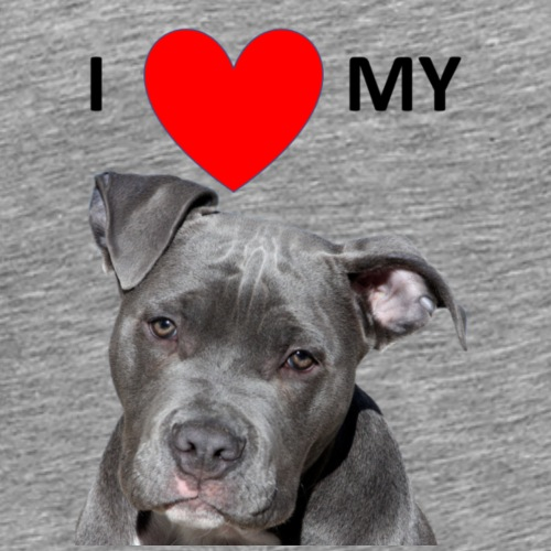 I love my Pitbull Hund Hunde Herrchen Frauchen