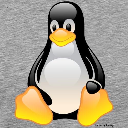 Tux - Männer Premium T-Shirt