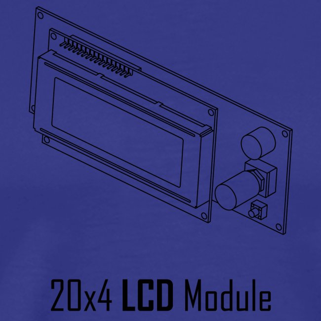 20x4 LCD Module