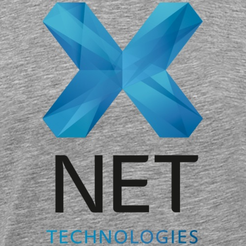 xnet logo blau technologies - Männer Premium T-Shirt
