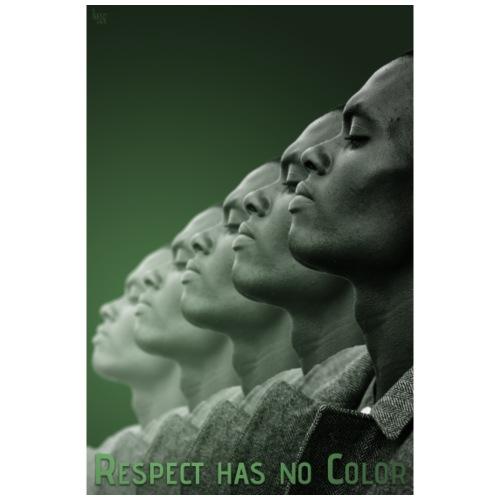 Respect has no Color 2 - Männer Premium T-Shirt
