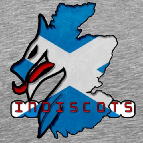 IndiScots logo - Men's Premium T-Shirt