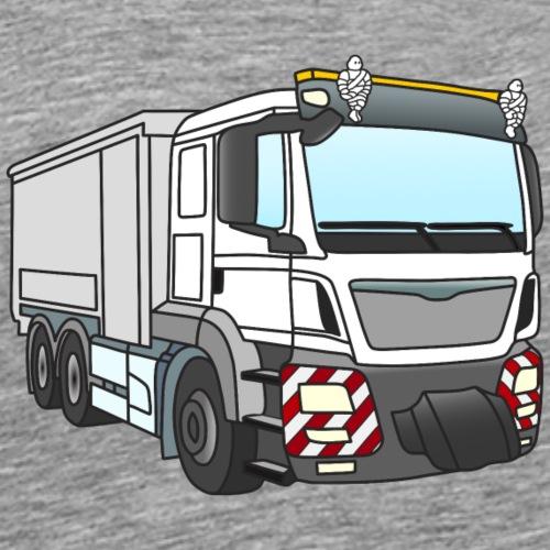 LKW 1 weiss grau - Männer Premium T-Shirt