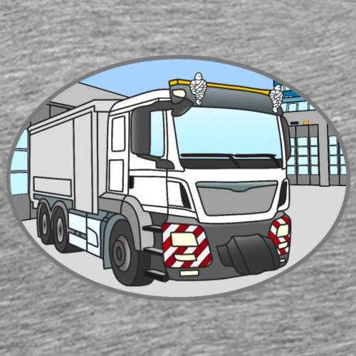 Original mit Gebäude - Männer Premium T-Shirt