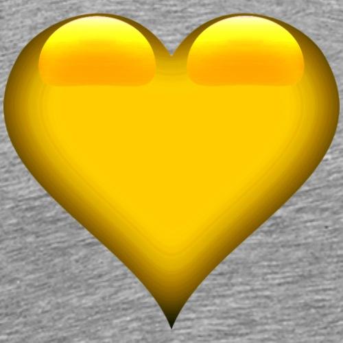 Herz Orange-Gelb