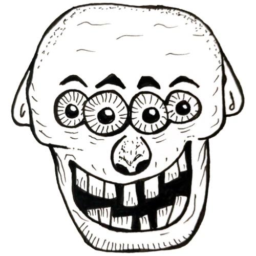 quatre yeux - T-shirt Premium Homme