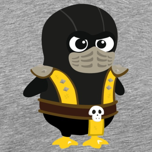 Pingouin Mortal Scorpion - T-shirt Premium Homme