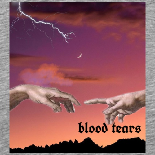 "blood tears - SERIES 1""bloody secret "" - T-shirt Premium Homme"
