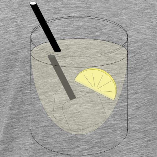 the big big Gin & Tonic - Männer Premium T-Shirt