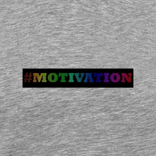 Motivation Bunt - Männer Premium T-Shirt