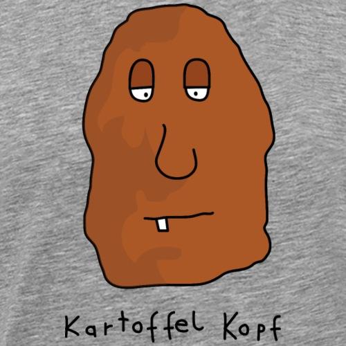 Kartoffel Kopf - Männer Premium T-Shirt