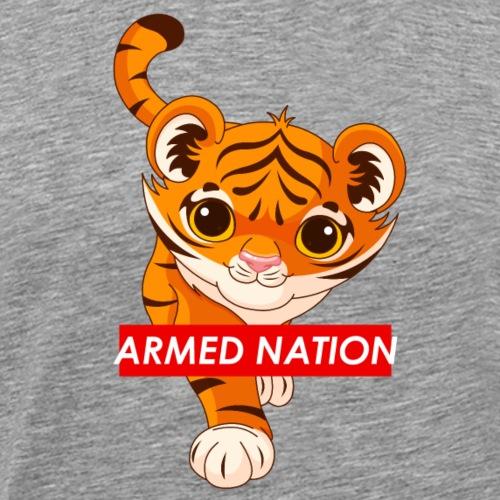 baby tiger red logo - 2021 - Männer Premium T-Shirt