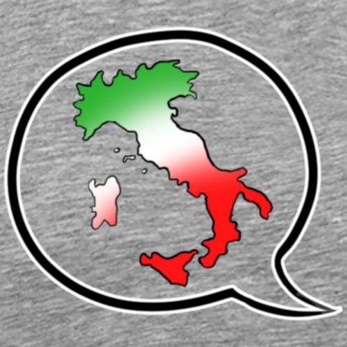 Italia T-Shirt Herren: Stiefel im Fokus - Männer Premium T-Shirt