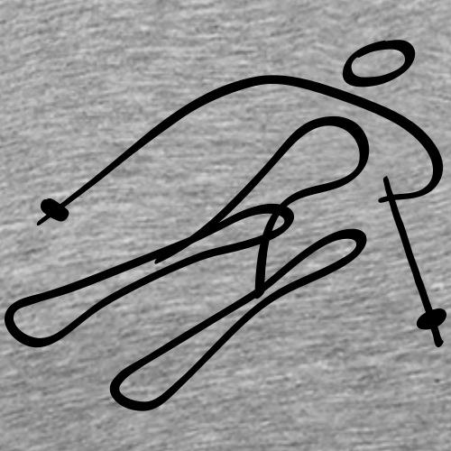 Alpine Skiing - Men's Premium T-Shirt