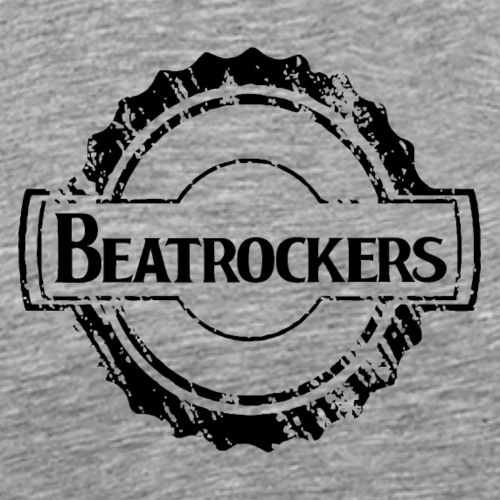 Beatrockers - The Band | Kick Logo - Männer Premium T-Shirt