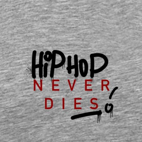 Hip Hop never dies Graffiti - Männer Premium T-Shirt