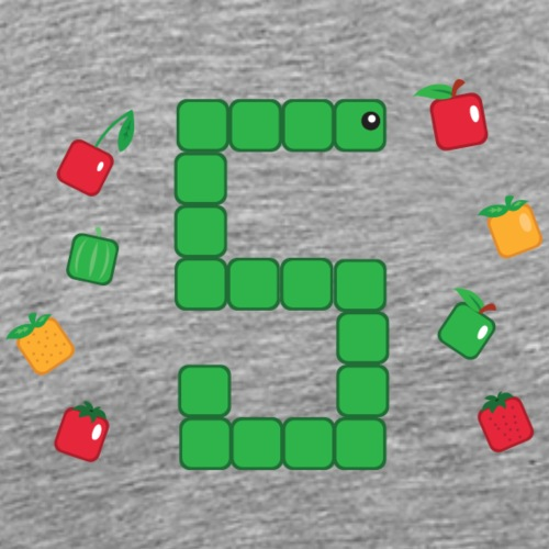 Serpent Tetris - T-shirt Premium Homme