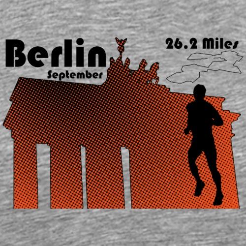 Marathon de Berlin - T-shirt Premium Homme