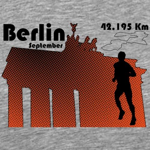 Berlin marathon - T-shirt Premium Homme