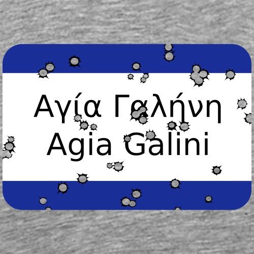 mg agia galini - Männer Premium T-Shirt