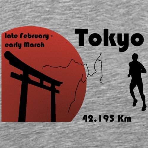 Marathon de Tokyo - T-shirt Premium Homme