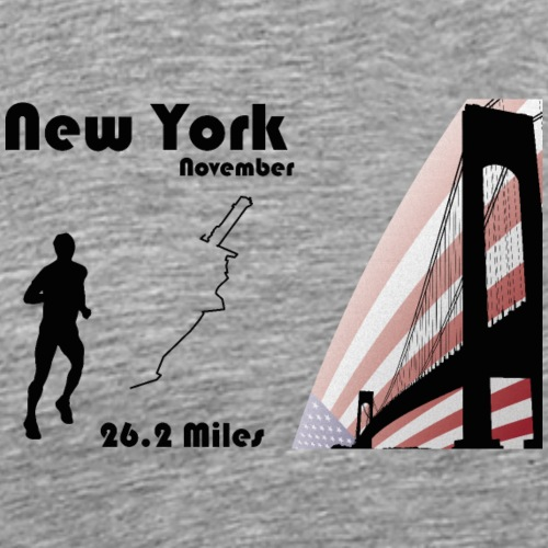 New york marathon - T-shirt Premium Homme