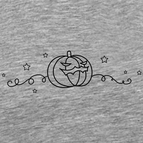 Citrouille Halloween - T-shirt Premium Homme
