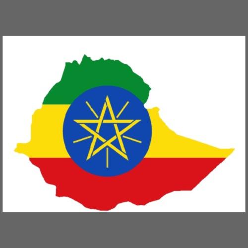 Ethiopia Country Flag - Men's Premium T-Shirt
