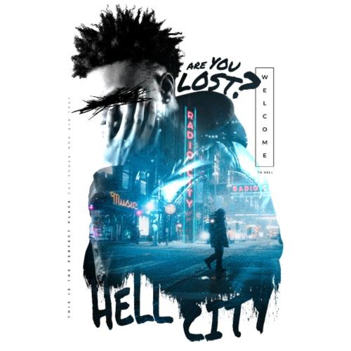 Hell City - Männer Premium T-Shirt