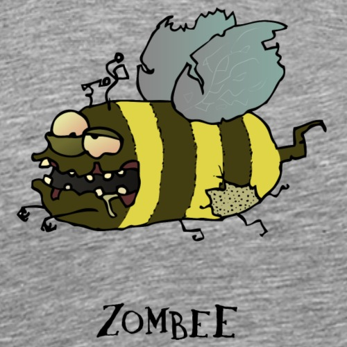 Zombee - Männer Premium T-Shirt