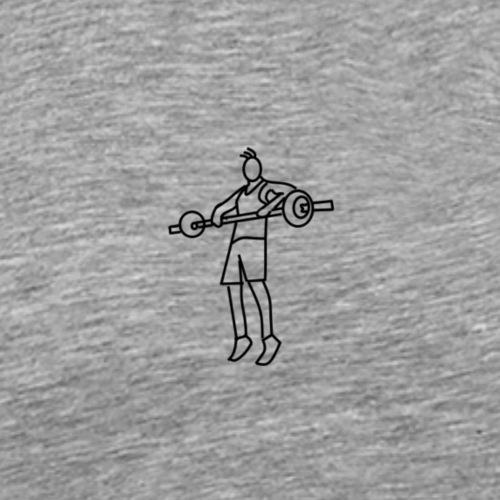 Gewichtheber - Männer Premium T-Shirt