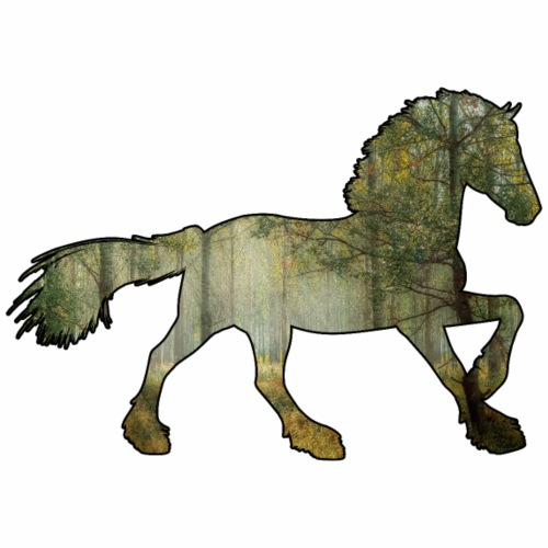 Le Cheval, le cheval, c'est trop génial ! - T-shirt Premium Homme