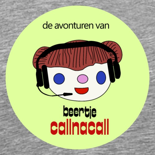 beertje callnacall - Mannen Premium T-shirt