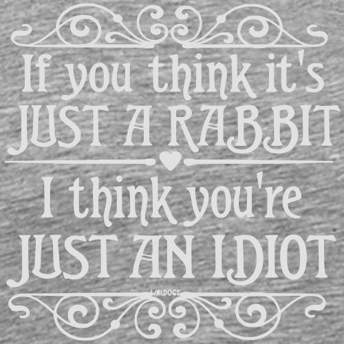 Just a Rabbit 2 - Miesten premium t-paita