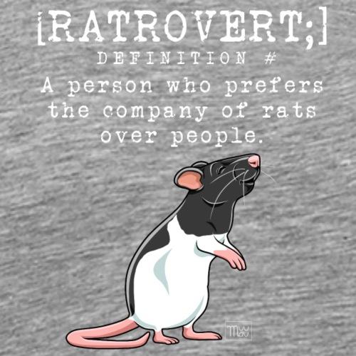 Ratrovert I - Miesten premium t-paita