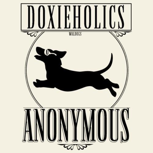 Doxieholics II - Miesten premium t-paita